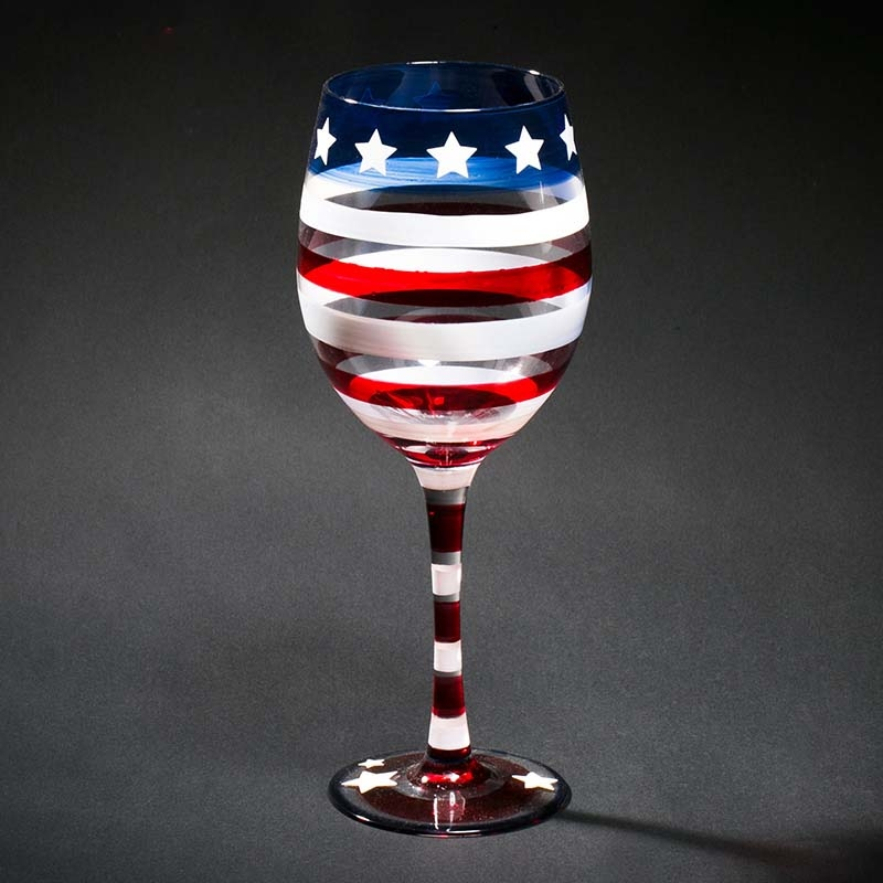 Funky Wine Glasses Hand Painting Wine Glasses And