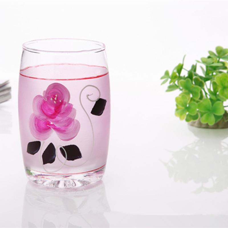 Handpainted wine glass cool drinking glasses hand painted for Hand painted drinking glasses