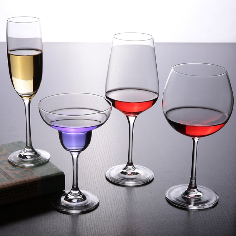 High quality crystal champagne flutes cocktail cups ...