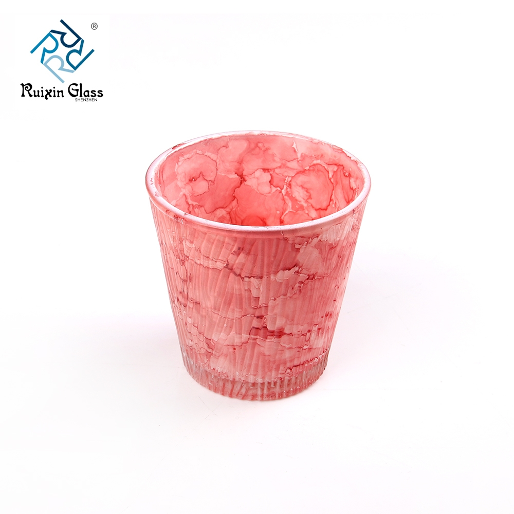 Hot Selling Colored Glass Tea Light Holders Supplier And