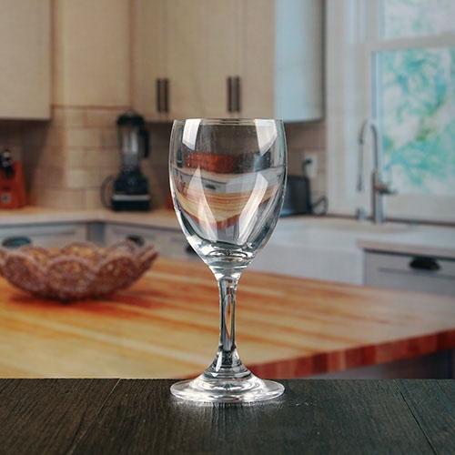 Bicchieri di vino di gambo corto di bicchierini senza piombo - Ingrosso bevande piano tavola ...