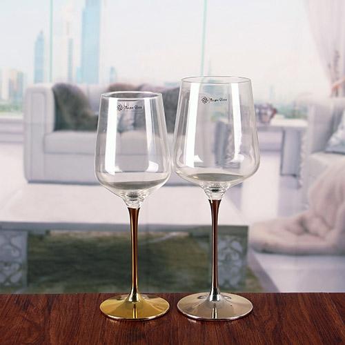 Custom Wedding Wine Glasses
