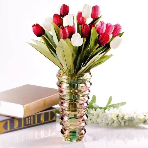Modern Creative Large Vase Purple Vases Glass Vases Wholesale