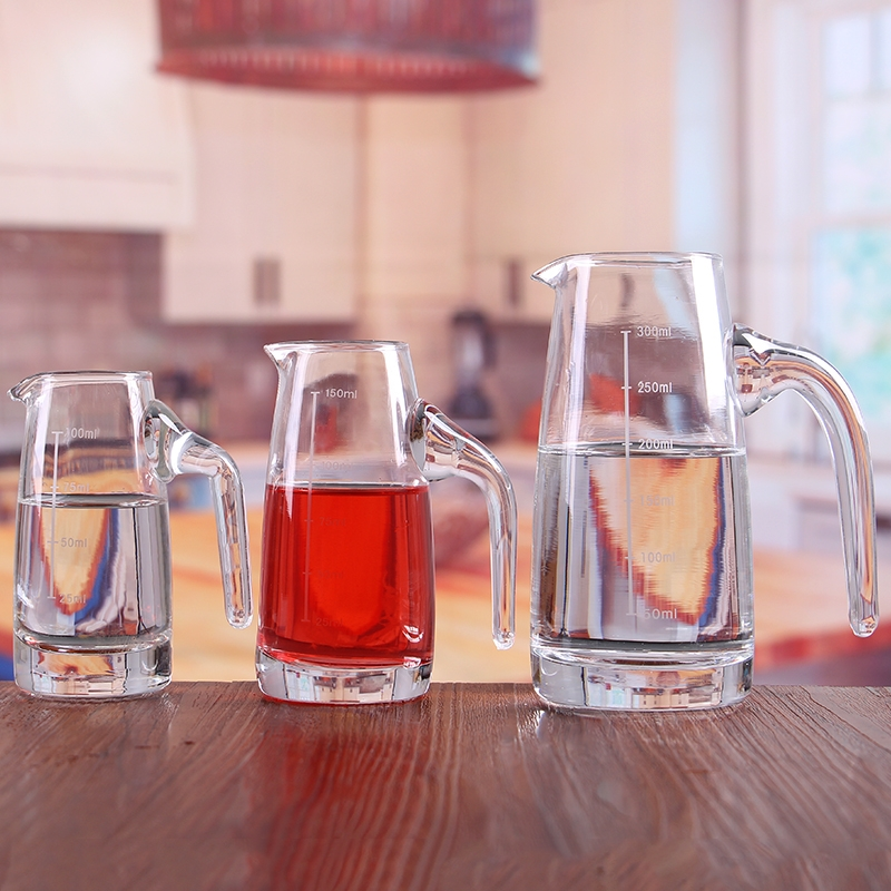 Restaurant supplies trumpet drinking vessel cheap decanter
