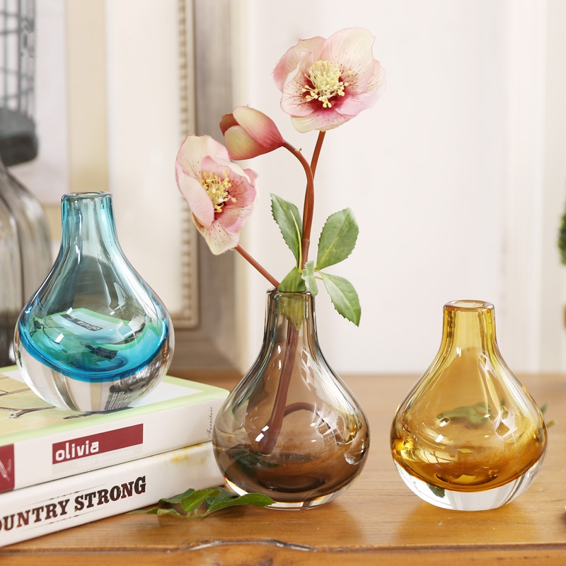 Round Glass Vases Manufacturer Blown Glass Vases Glass Vase Wholesale
