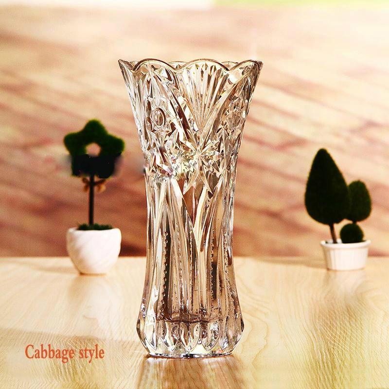 Sales Promotion Glass Vases Cheap Import Flowers Vase Wedding Vase