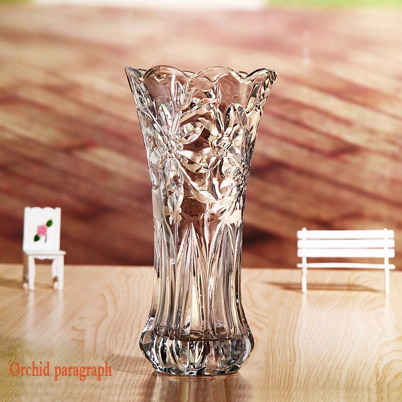 Sales Promotion Glass Vases Cheap Import Flowers Vase Wedding Vase