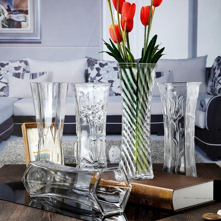 pequeo jarrn de flores jarrones de cristal modernas al por mayor jarrones de cristal de la boda