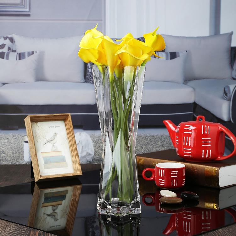 Small Flower Vase Modern Glass Vases Wedding Glass Vases