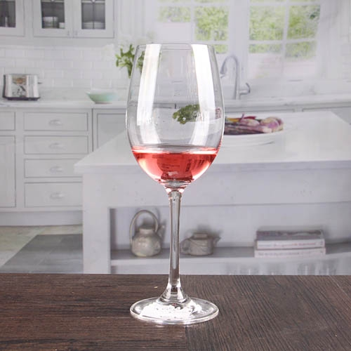 Thin red and white wine glasses crystal glass goblets ...
