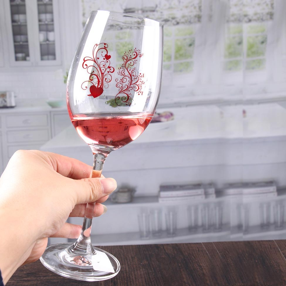 thin red and white wine glasses crystal glass goblets. Black Bedroom Furniture Sets. Home Design Ideas